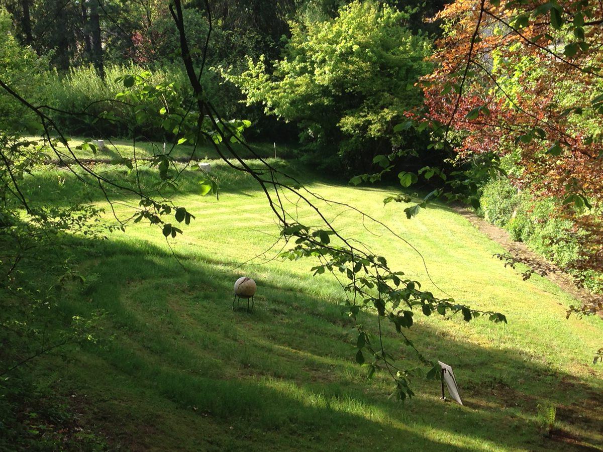 Rasenlabyrinth
